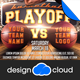 Basketball Game Day Flyer Template - GraphicRiver Item for Sale
