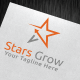 Stars Grow Logo Template - GraphicRiver Item for Sale