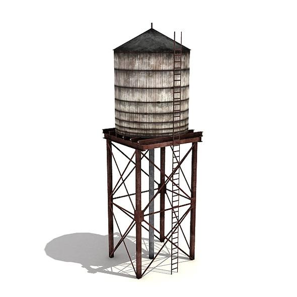 3DOcean Water Tower 7817544