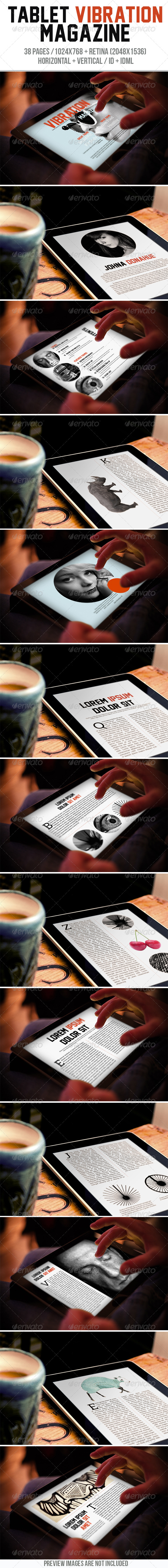 GraphicRiver Tablet Vibration Magazine 7817700