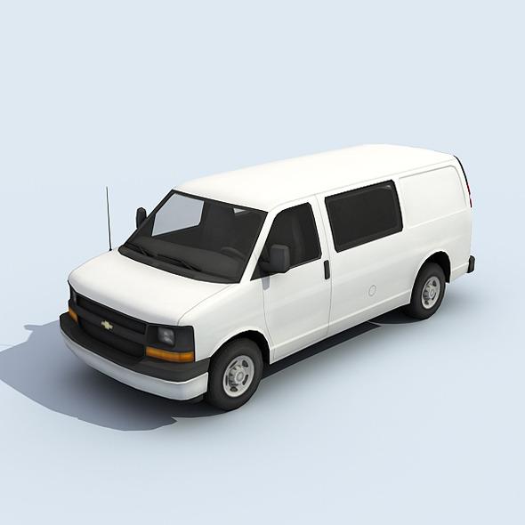 3DOcean Full Size Van 7817699