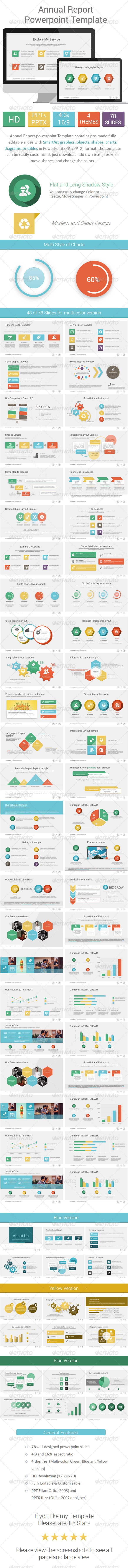 GraphicRiver Annual Report Powerpoint Template Vol.2 7803210