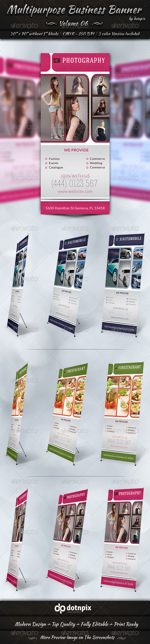 GraphicRiver Multipurpose Business Banner Volume 6 7817826