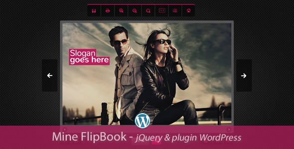 Mine Flipbook jQuery&pluginWordPress - CodeCanyon Item for Sale