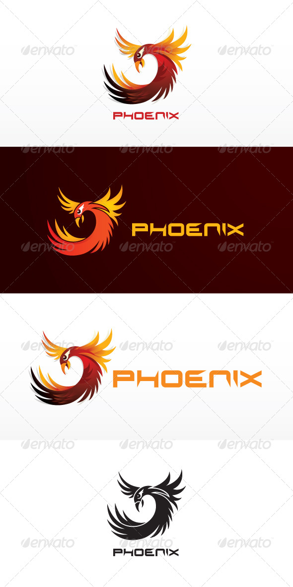 Phoenix Stock Logo Template