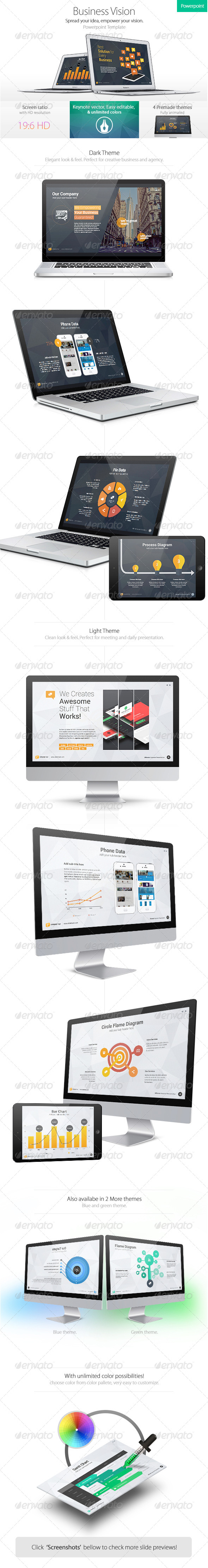 GraphicRiver Business Vision Powerpoint Template 7807057