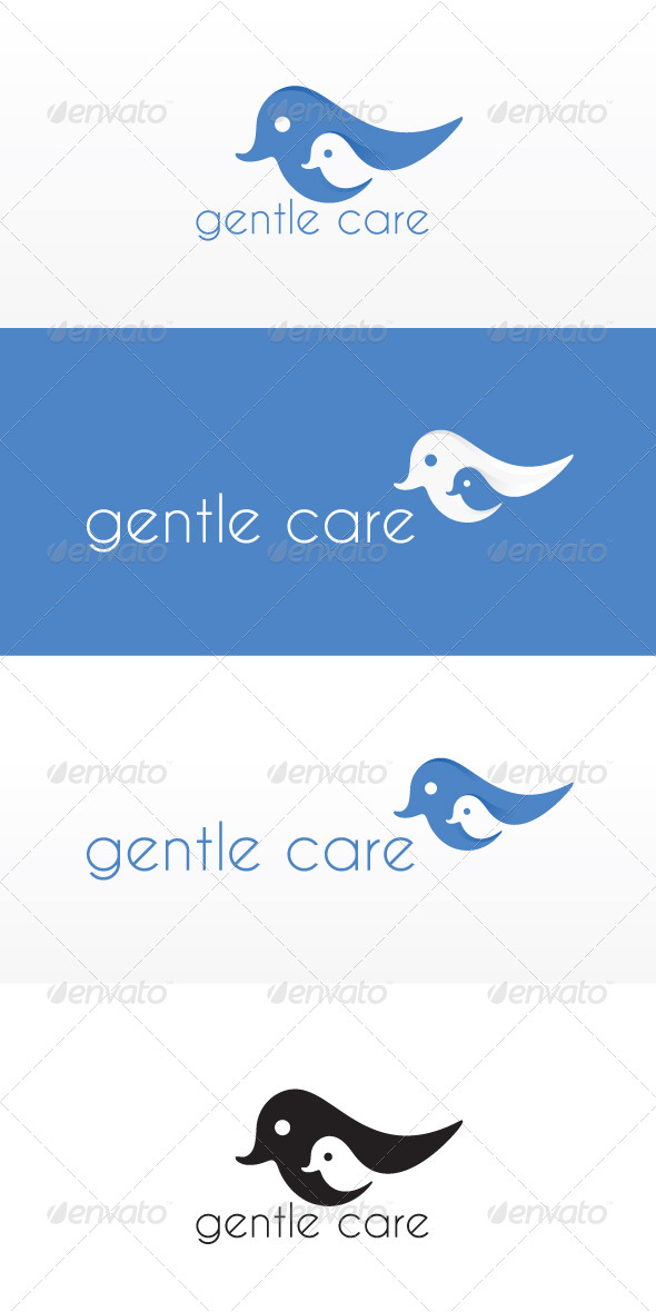 Gentle Care Stock Logo Template
