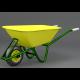 Wheelbarrow (low poly) - 3DOcean Item for Sale