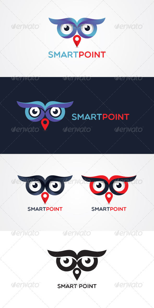 GraphicRiver Smart Point Stock Logo Template 7818256