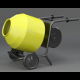 Cement Mixer - 3DOcean Item for Sale