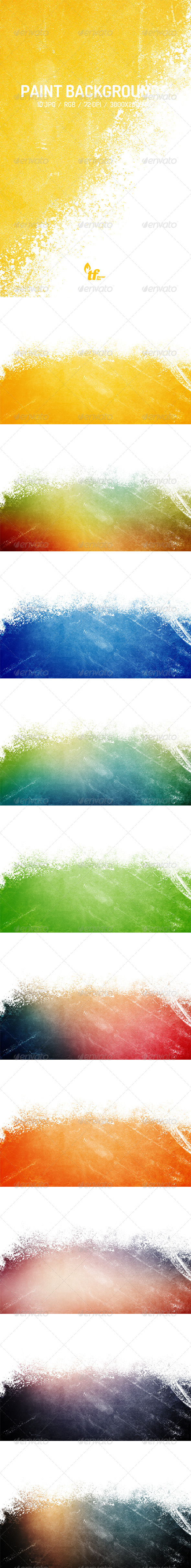 GraphicRiver Paint Backgrounds 7819333