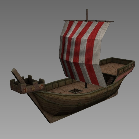 Age of Sail_Hanse Cog - 3DOcean Item for Sale