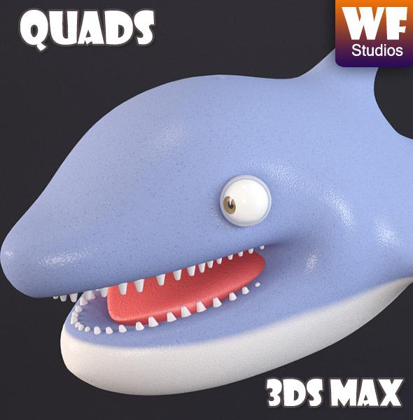 3DOcean Cartoon Dolphin 7819594