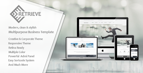 Retrieve | Responsive Multipurpose Joomla Template - Corporate Joomla