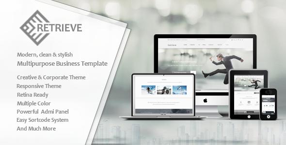 Retrieve | Responsive Multipurpose Joomla Template - Corporate Joomla