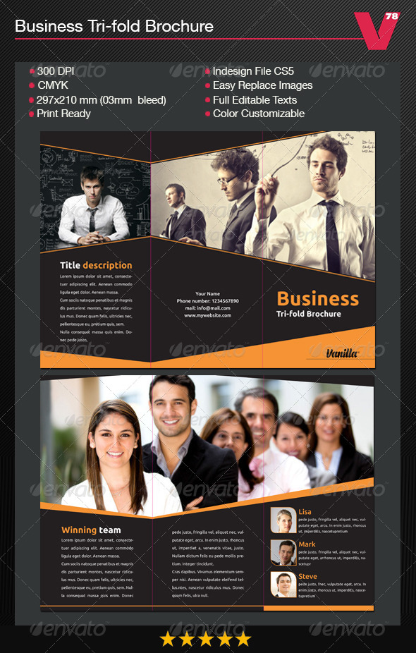 GraphicRiver Business Tri-fold Brochure 7819760