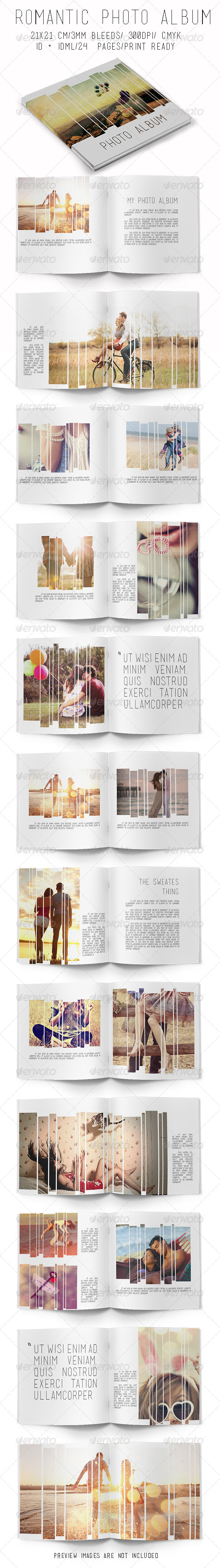 GraphicRiver Romantic Photo Album 7819816