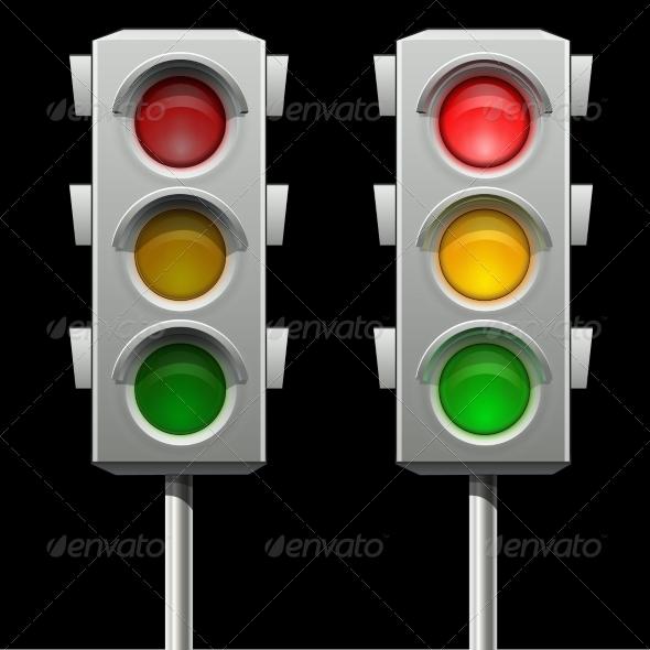 GraphicRiver Traffic Lights 7820214