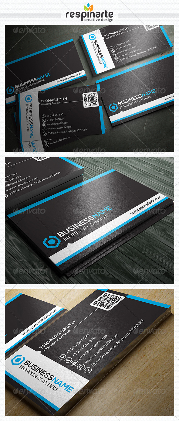 GraphicRiver Corporate Business Card RA28 7820319