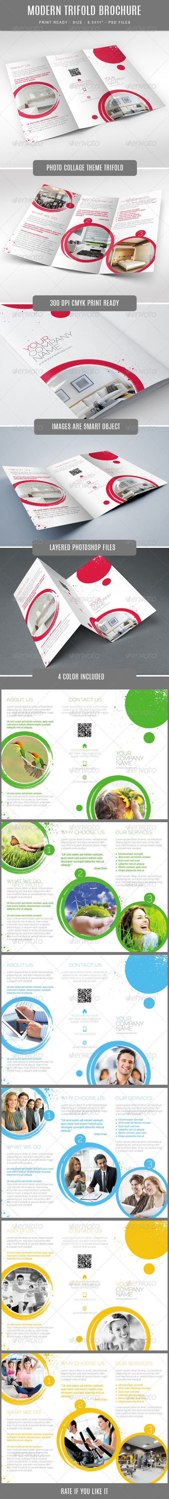 GraphicRiver Multipurpose Tri-Fold Brochure 7821077