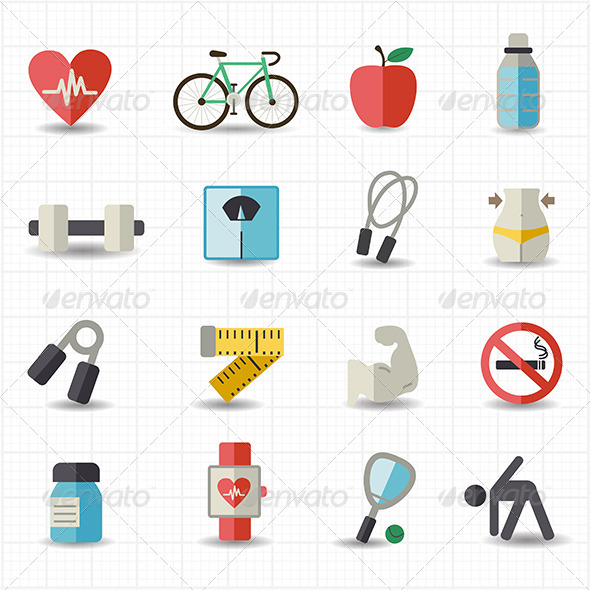 GraphicRiver Healthcare Icons 7821294