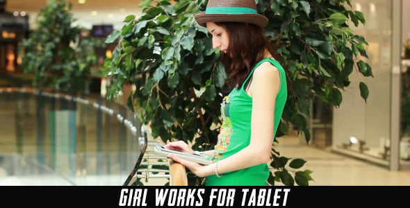 Girl Works For Tablet 10