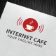 Internet Cafe Logo Template - GraphicRiver Item for Sale