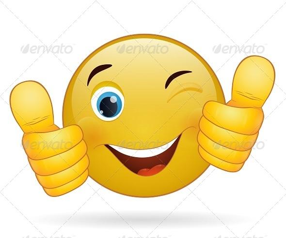 GraphicRiver Thumb Up Emoticon 7822386