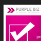 Purple Biz Pack