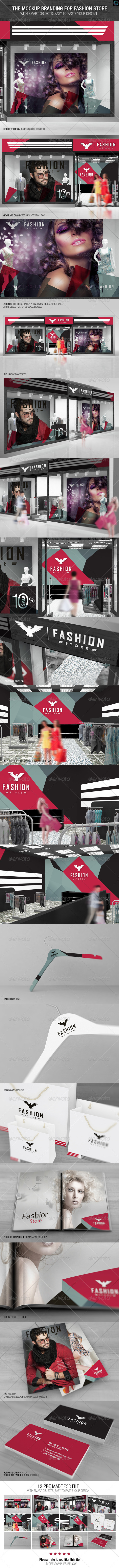 The Mockup Branding for Fashion Store