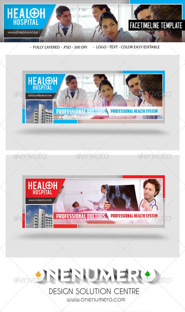 GraphicRiver Health Hospital Facetimeline 7822757