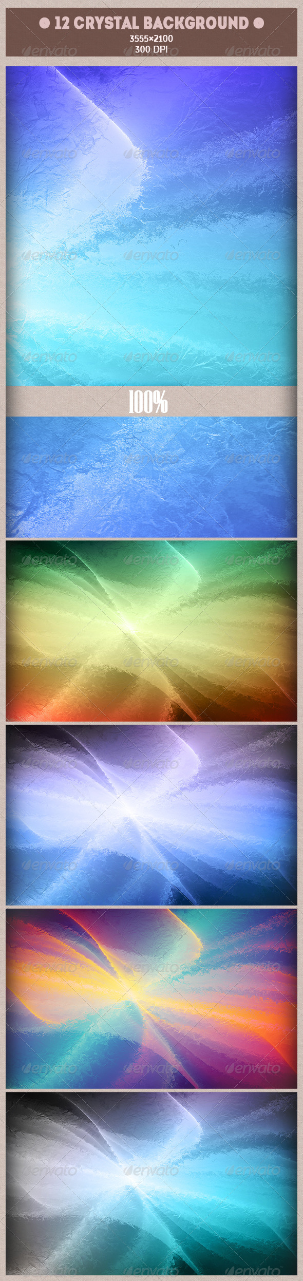 GraphicRiver 12 Crystal Background 7822860