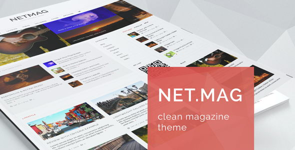 NetMag Clean Review Magazine Theme