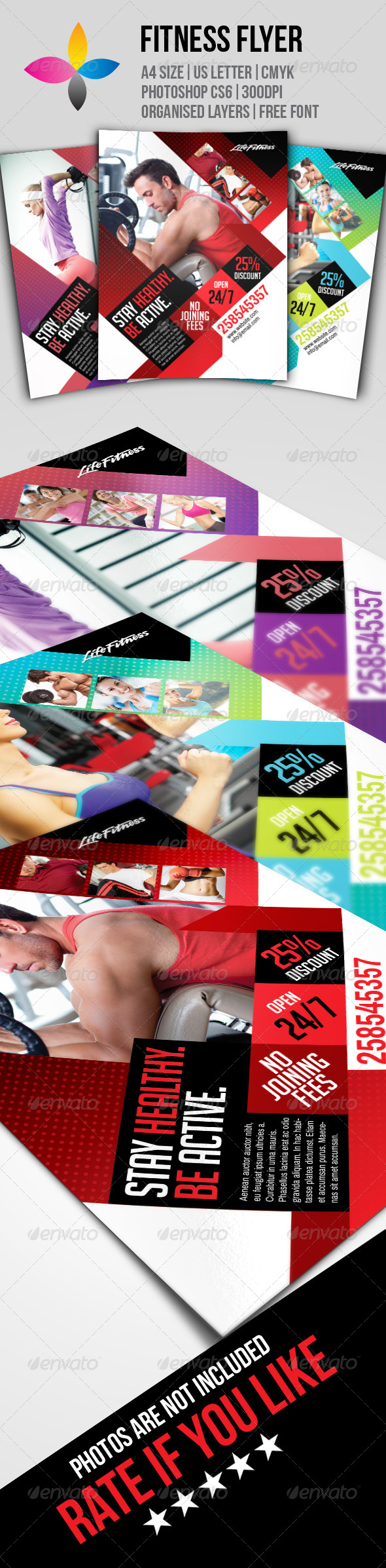 GraphicRiver Fitness Flyer 7823053