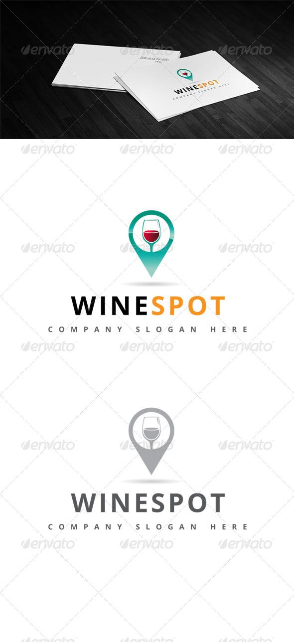 GraphicRiver Wine Spot Logo 7823381