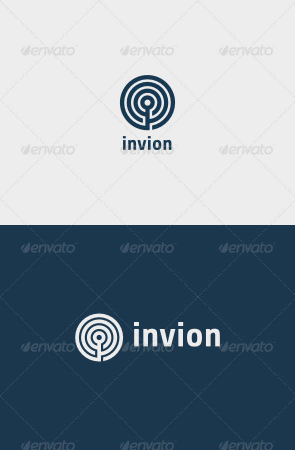 Invion Logo - Vector Abstract