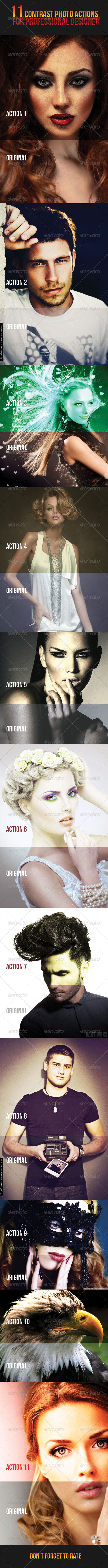GraphicRiver 11 Contrast Photo Actions 7752192