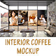 Interior Coffee Mockup - GraphicRiver Item for Sale