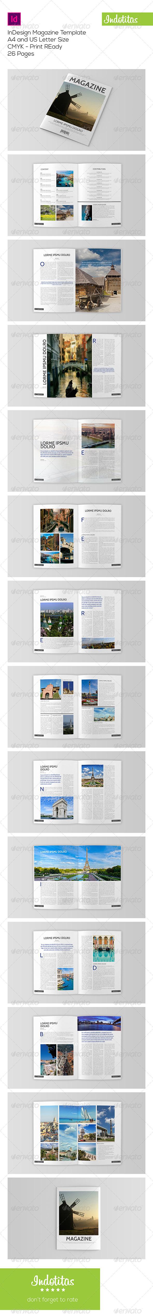 GraphicRiver Indesign Magazine Template 7824440