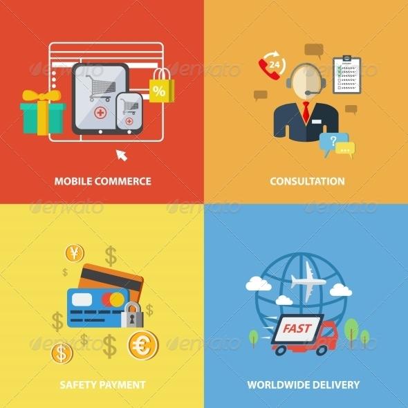 GraphicRiver Shopping e-Commerce Elements 7824586