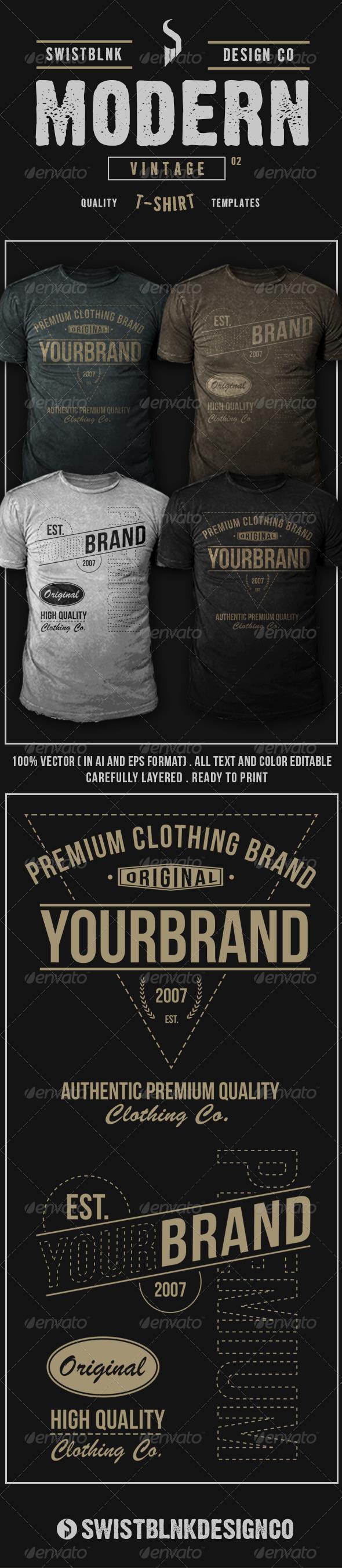Modern Vintage T-Shirt 02