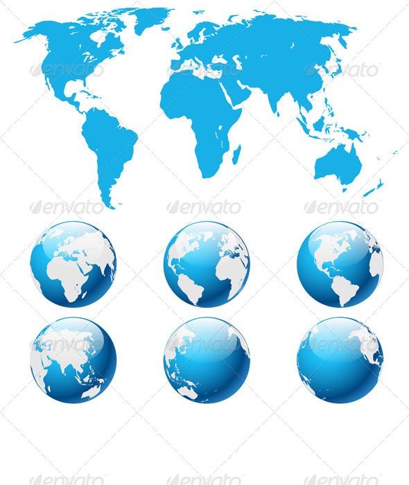 GraphicRiver Globe Earth 7825963