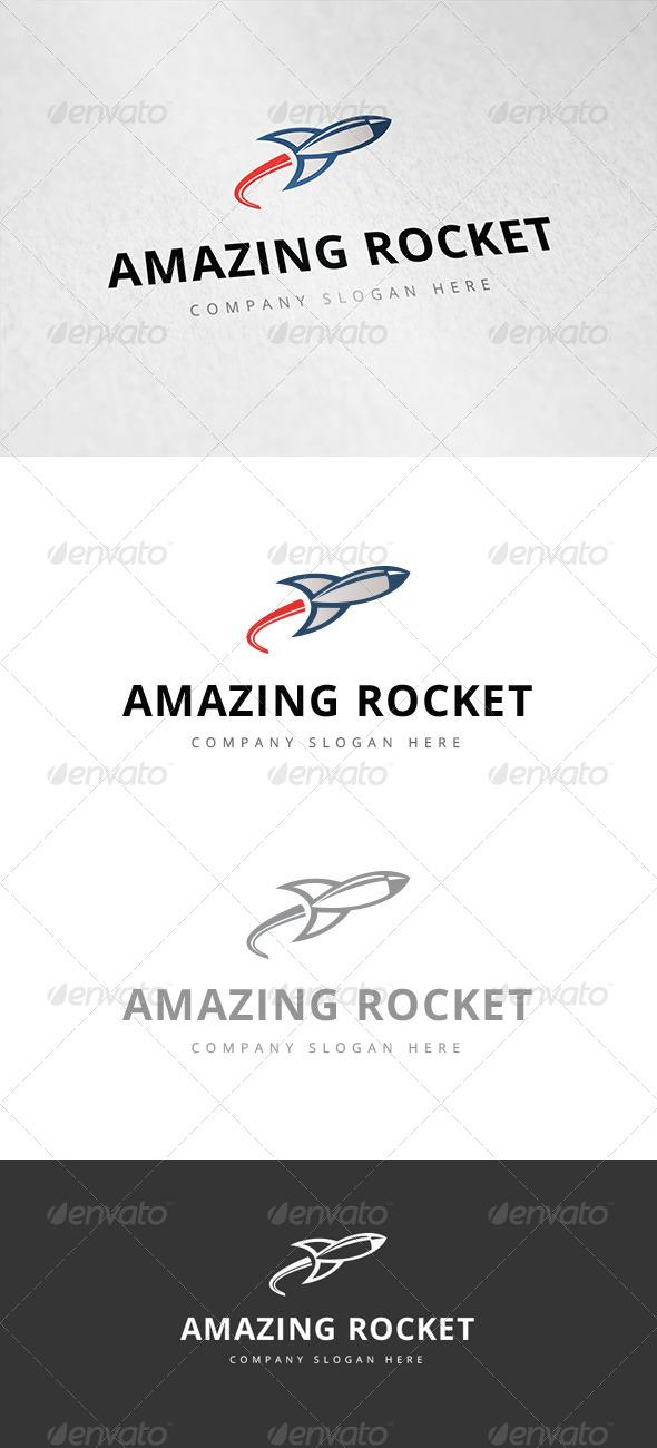 GraphicRiver Amazing Rocket Logo 7826315