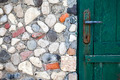 Stone Wall and Wood Door - PhotoDune Item for Sale