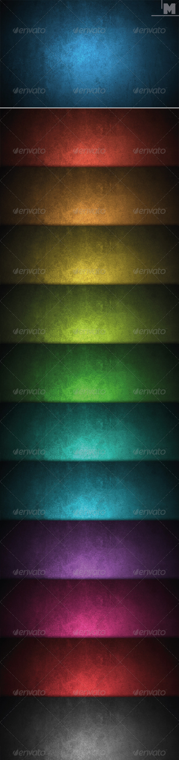 GraphicRiver Grunge Colored Backgrounds 7827129