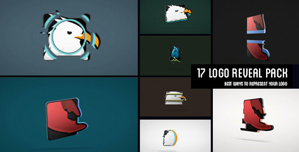 17 Logo Reveals Pack