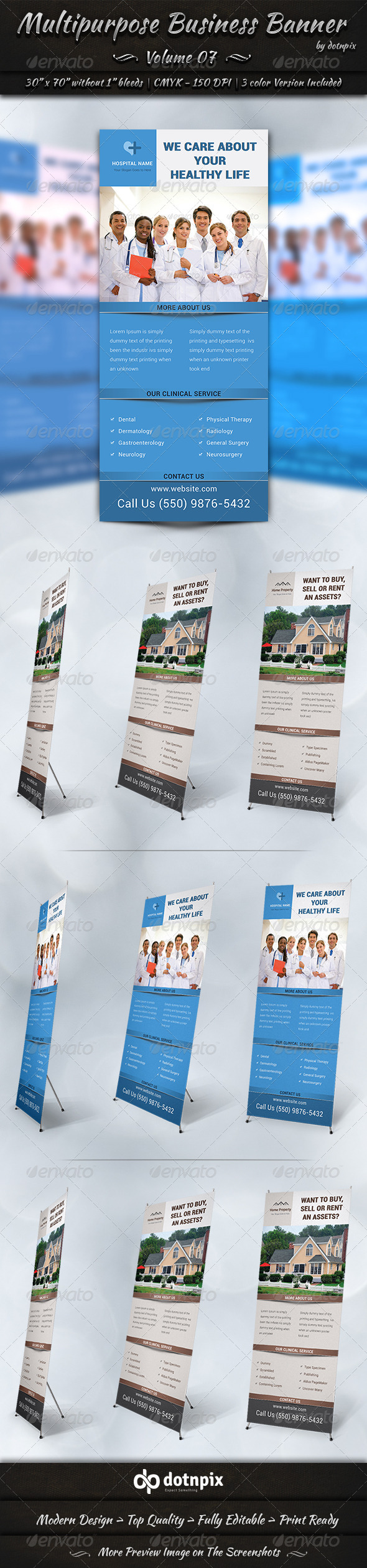 GraphicRiver Multipurpose Business Banner Volume 7 7827168
