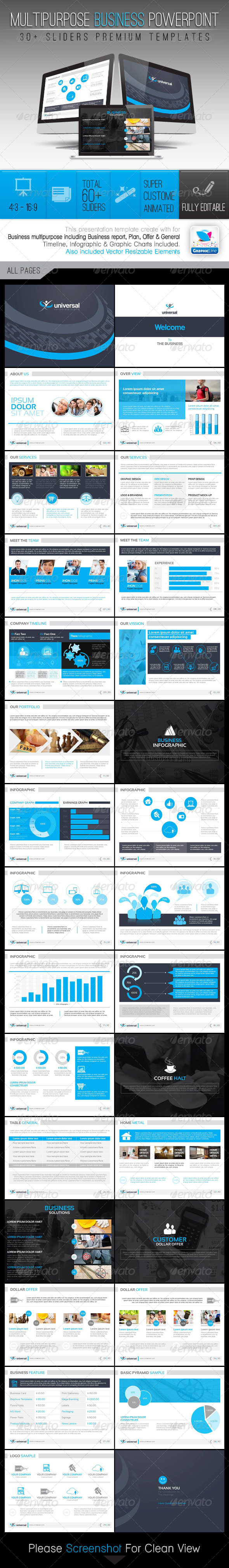GraphicRiver Universal Multipurpose Business Templates 7827392