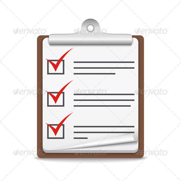 GraphicRiver Check List 7827405