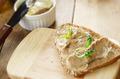 Liver paste sandwich with arugula - PhotoDune Item for Sale